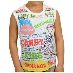 Abbigliamento Bambino Top / T-shirt senza maniche Geox Canotta T-shirt multicolore