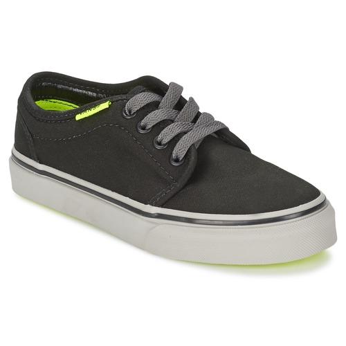 Scarpe Bambino Sneakers basse Vans 106 VULCANIZED Nero / Grigio / Giallo