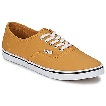 Scarpe Sneakers basse Vans AUTHENTIC LO PRO MUSTARD / TRUE / White