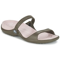 Scarpe Donna Sandali Crocs Cleo CHOCOLATE / Cotton / Candy