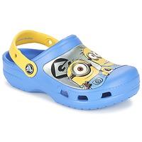 Scarpe Bambino Zoccoli Crocs CC Minions Clog Blu / Giallo