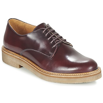 Scarpe Donna Derby Kickers OXFORK BORDEAUX