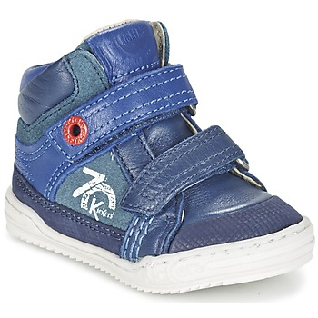 Scarpe Bambino Sneakers alte Kickers JINJINU Blu