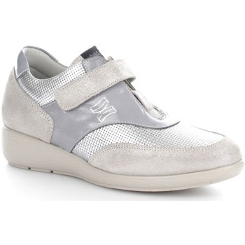Scarpe CallagHan  90411 Sneakers Donna Pelle  Olimpia Plata Merlin