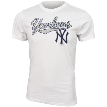 Abbigliamento Uomo T-shirt maniche corte New Era MLB New York Yankees Script tee