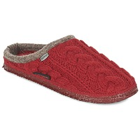 Scarpe Donna Pantofole Giesswein NEUDAU Rosso