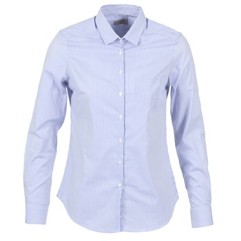 Abbigliamento Donna Camicie Casual Attitude FANFAN Bianco / Blu