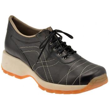 Scarpe Donna Sneakers basse Bocci 1926 Walk lacci Sportive basse nero