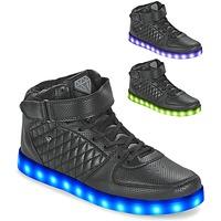 Scarpe Uomo Sneakers alte Cash Money CMS33 LIGHTLORD JAILOR Nero