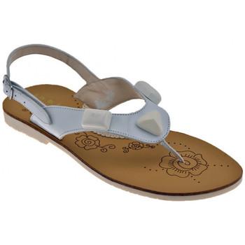 Scarpe Bambina Sandali Inblu Pietre Sandali bianco