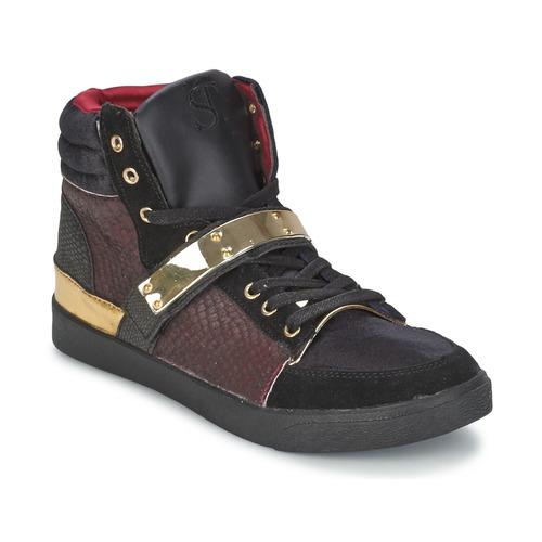 SuperTrash GOLDY Bordeaux  Scarpe Sneakers alte Donna 49,60