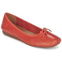 Scarpe Donna Ballerine Clarks Freckle Arancio