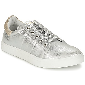 Scarpe Donna Sneakers basse Les P'tites Bombes BABOU Argento