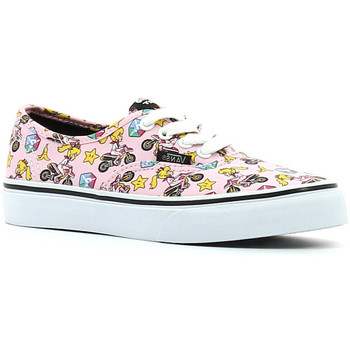 Scarpe Bambina Sneakers basse Vans Authentic Princess peach Nintendo Rosa