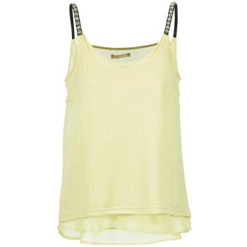 Abbigliamento Donna Top / T-shirt senza maniche LPB Woman BRICCOM Giallo