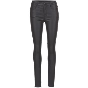 Abbigliamento Donna Pantaloni 5 tasche Vila VICOMMIT Nero