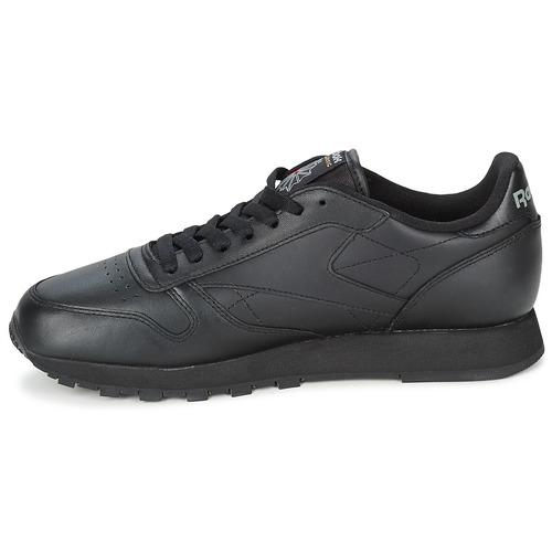 Cl Consegna Lthr Nero Scarpe Classic Gratuita 7200 Sneakers Basse Reebok 5RL4jA