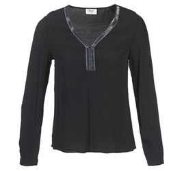 Abbigliamento Donna Top / Blusa Betty London FALINDI Nero