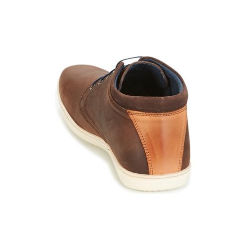 Consegna Caler Marrone Attitude Uomo Casual Gratuita Scarpe Sneakers Alte 6380 9eWEIDYbH2