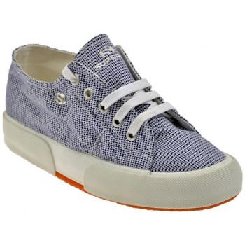 Scarpe Donna Sneakers basse Superga 2752 Fusbet Interno Sportive basse blu