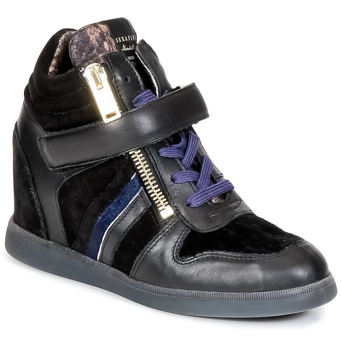 Serafini LEXINGTON Nero  Scarpe Sneakers alte Donna 107,50