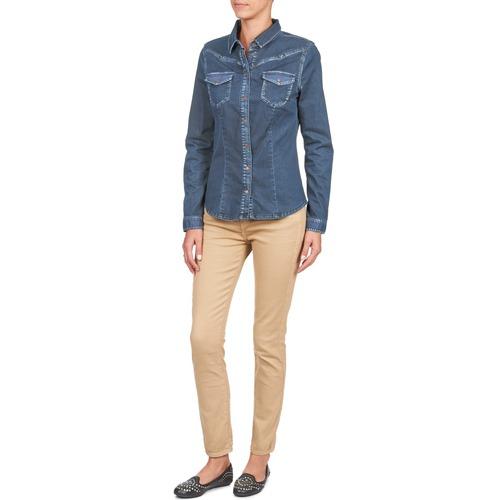 4 5950 8 Acquaverde Scarlett Consegna Pantaloni Donna Abbigliamento 3 Crema Gratuita 7 E PXZTiukO