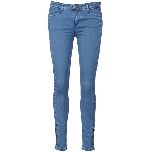AcquaGrün ALFIE Blau   Clair - Consegna gratuita   Spartoo    - Abbigliamento Jeans slim damen 72,80