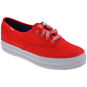 Scarpe Donna Sneakers basse Keds Triple  Sportive  basse rosso