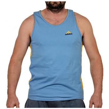 Abbigliamento Uomo Top / T-shirt senza maniche adidas Originals Gioviano canotta vogatore  PERFORMANCE T-shirt multicolore