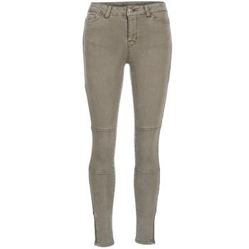 Abbigliamento Donna Jeans slim Vero Moda SEVEN TAUPE