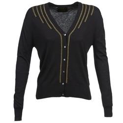 Abbigliamento Donna Gilet / Cardigan Chipie BERENICE Nero