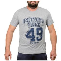 Abbigliamento Uomo T-shirt maniche corte Onitsuka Tiger BaseballT-shirt grigio