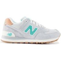 Scarpe Donna Sneakers basse New Balance Sneakers lifestyle 574 canvas grey/green Multicolor