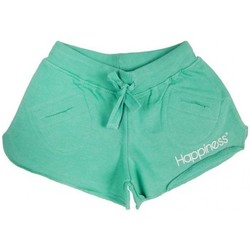 Abbigliamento Bambina Shorts / Bermuda Happiness Shorts kid female emerald
