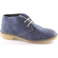 Scarpe Donna Derby Manifatture Italiane 2361 jeans scarpe unisex pedule desert boot Blu