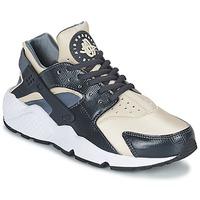 Scarpe Donna Sneakers basse Nike AIR HUARACHE RUN W Grigio / Beige