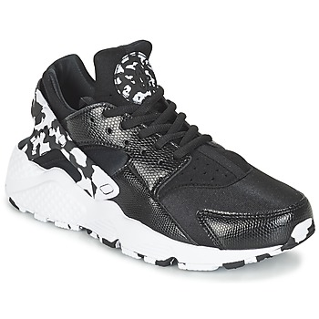 Scarpe Donna Sneakers basse Nike AIR HUARACHE RUN SE W Nero / Bianco