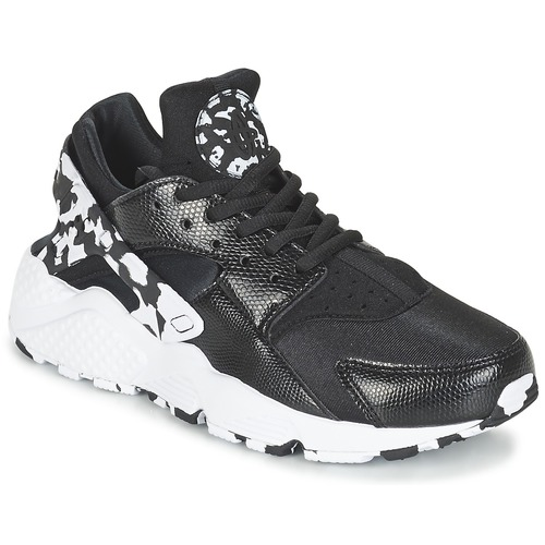 Nike AIR HUARACHE RUN SE W Nero / Bianco Scarpe Sneakers basse Donna 78,00