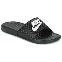 Scarpe Donna Ciabatte Nike BENASSI JUST DO IT W Nero / Bianco
