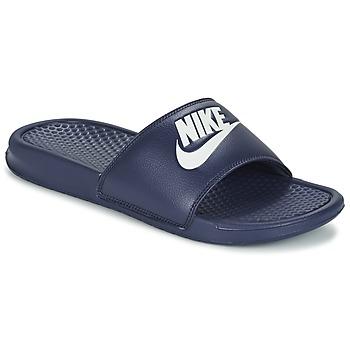 Scarpe Uomo ciabatte Nike BENASSI JDI Blu / Bianco