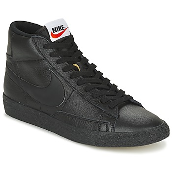 Scarpe Uomo Sneakers alte Nike BLAZER MID Nero