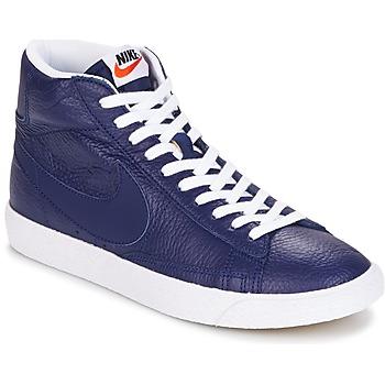 Scarpe Uomo Sneakers alte Nike BLAZER MID Blu