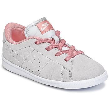 Scarpe Bambina Sneakers basse Nike TENNIS CLASSIC PREMIUM TODDLER Grigio / Rosa