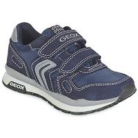 Scarpe Bambina Sneakers basse Geox J PAVEL Blu