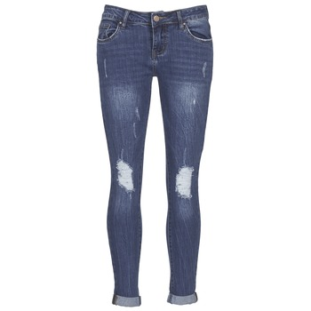 Abbigliamento Donna Jeans slim Yurban FOUNOLE Blu / Medium