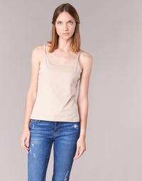 Abbigliamento Donna Top / T-shirt senza maniche BOTD FAGALOTTE Nude