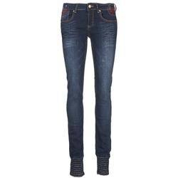 Abbigliamento Donna Jeans slim Desigual GRASSO Blu / Scuro