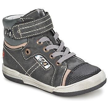 Scarpe Bambino Sneakers alte GBB HERMINIG Grigio