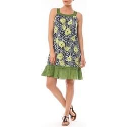Abbigliamento Donna Abiti corti By La Vitrine Robe Dublin imprimée Géometrique Verde