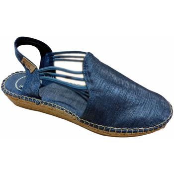 Scarpe Donna Sandali Toni Pons sandalo corda blu mari raso chiuso zeppa art NEUS animal free es blu